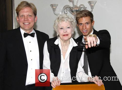 Rob Bowman, Elaine Stritch and Hunter Ryan Herdlicka 2