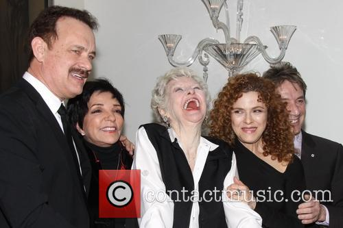 Tom Hanks, Liza Minnelli, Elaine Stritch, Bernadette Peters and Martin Short 2