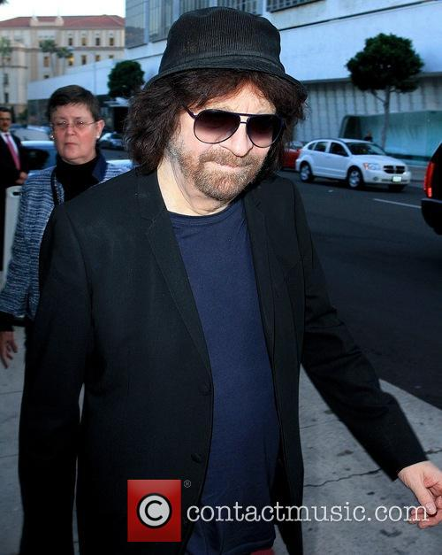 Jeff Lynne out and about in Los Angeles