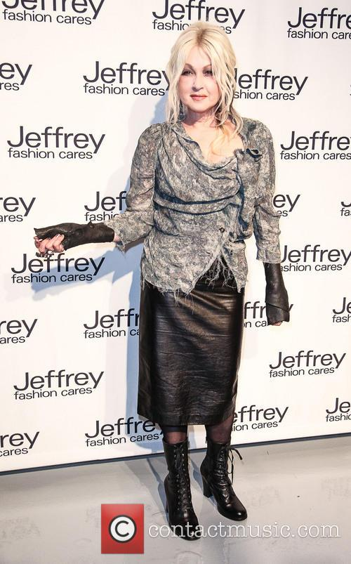 cyndi lauper jeffrey fashion cares 10th anniversary 3585251