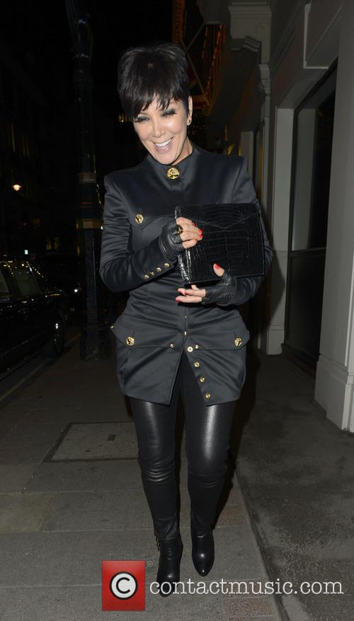 Kardashians out in London
