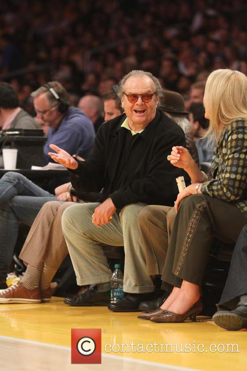 jack nicholson celebrities at the la lakers 3585306