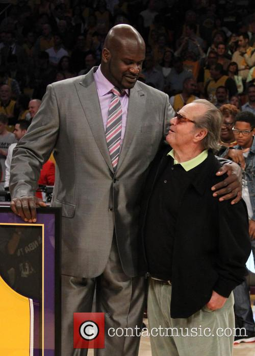 Jack Nicholson and Shaquille O'neal 3