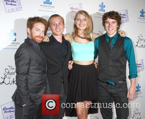 Seth Green, Lou Taylor Pucci, Mackenzie Munro and Tyler Stentiford 2