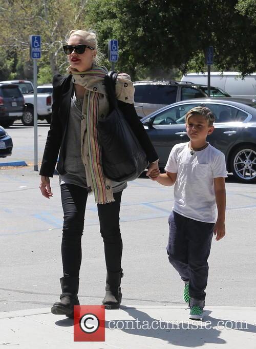 Gwen Stefani and Kingston Rossdale 8