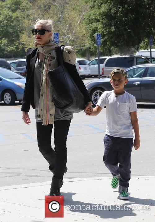 Gwen Stefani and Kingston Rossdale 5