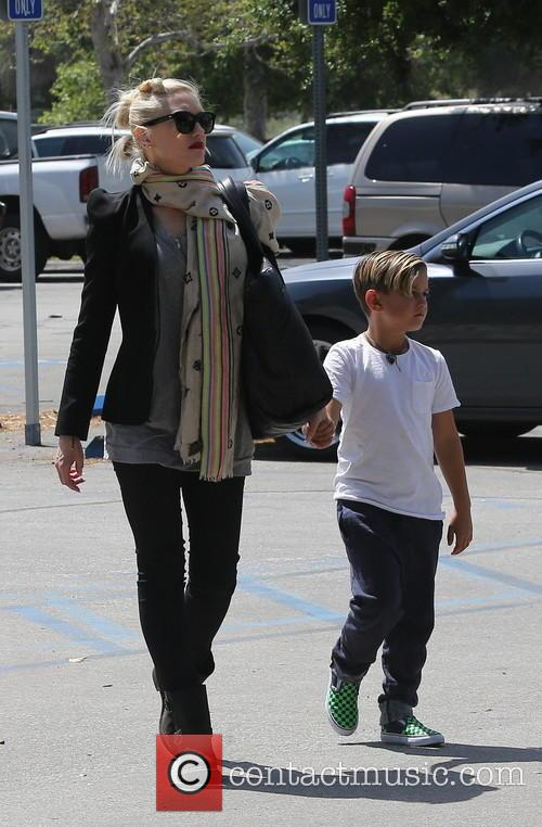 Gwen Stefani and Kingston Rossdale 12