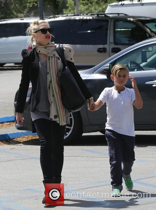 Gwen Stefani and Kingston Rossdale 13