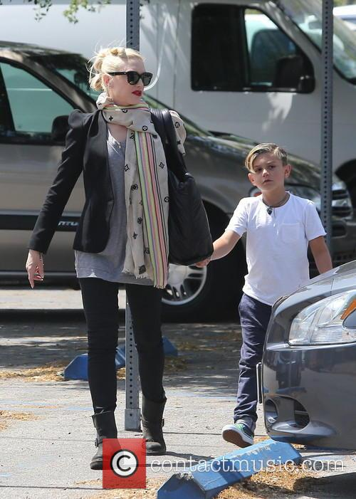 Gwen Stefani and Kingston Rossdale 14