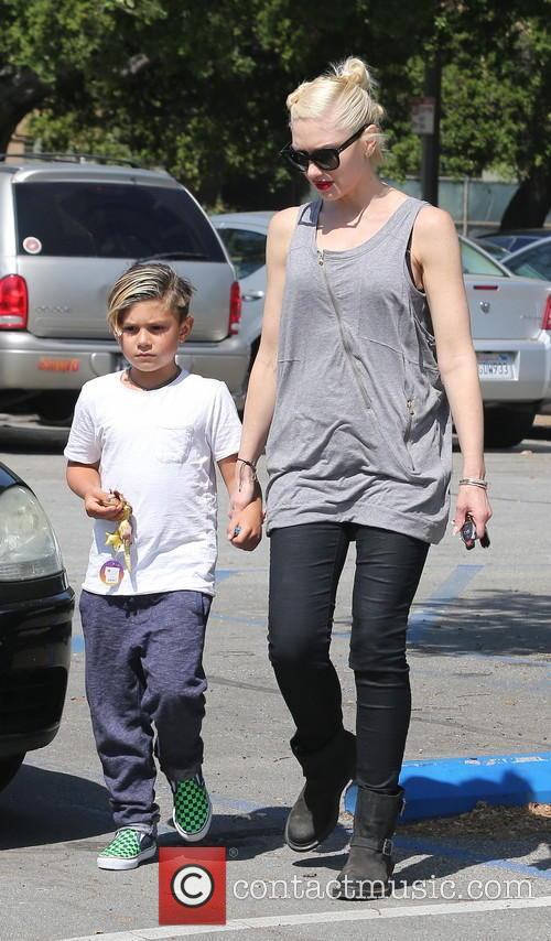 Gwen Stefani and Kingston Rossdale 15