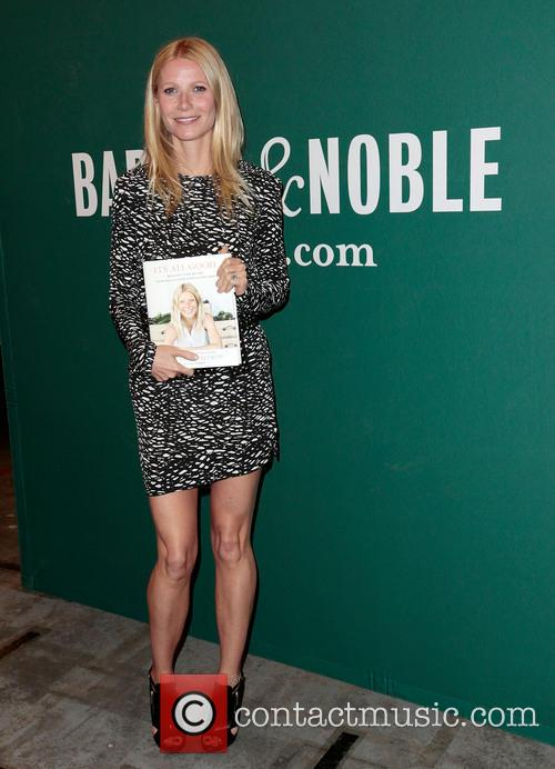 Gwyneth Paltrow book signing