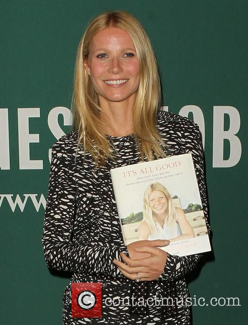Gwyneth Paltrow at a book signing