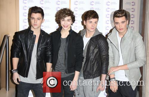 Jaymi Hensley, George Shelley, Jamie Hamblett, Jj and Josh Cuthbert Of Union J 8