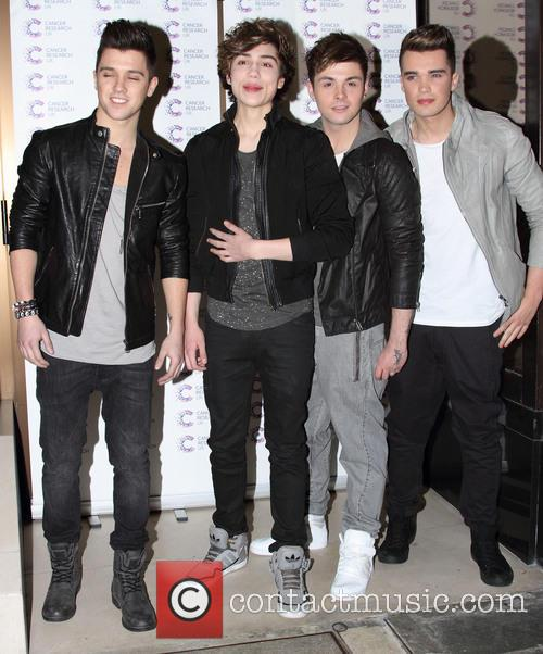 Union J attend the James' 'Jog-on to Cancer' charity fundraiser for Cancer Research UK at the Kensington Roof Gardens and London - April 3rd 2013 2