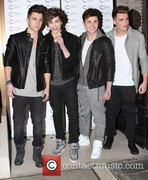 Union J attend the James' 'Jog-on to Cancer' charity fundraiser for Cancer Research UK at the Kensington Roof Gardens and London - April 3rd 2013 3