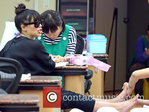 Kim Kardashian nail salon
