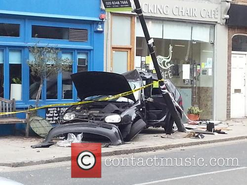 Car Crash in Crouch End
