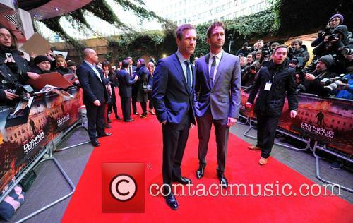 Gerard Butler and Aaron Eckhart 1