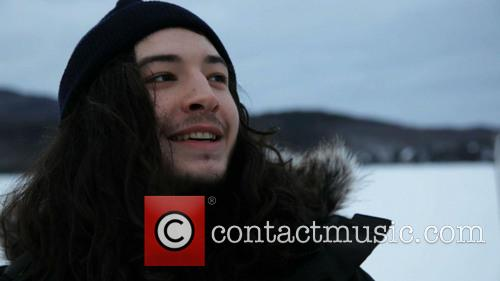 Ezra Miller training with Greenpeace for his upcoming...