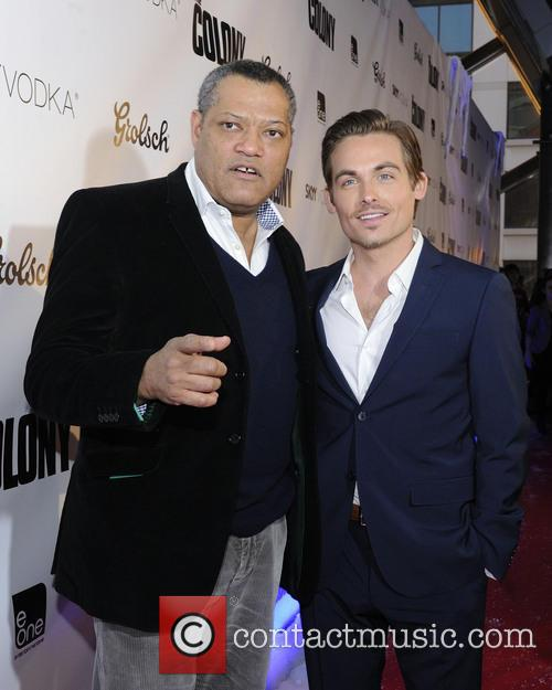 Laurence Fishburne and Kevin Zegers 7