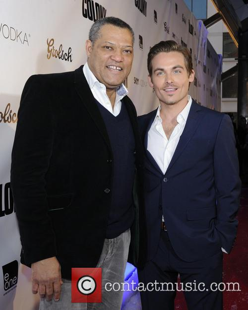 laurence fishburne kevin zegers the colony world premiere 3586574