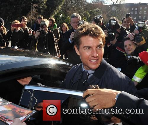 Tom Cruise in Dublin