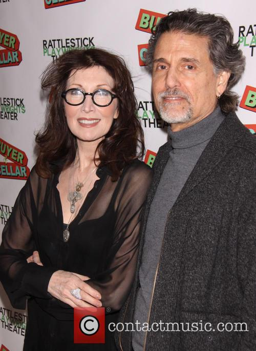 Joanna Gleason and Chris Sarandon