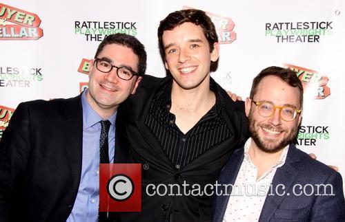 Jonathan Tolins, Michael Urie and Stephen Brackett 2
