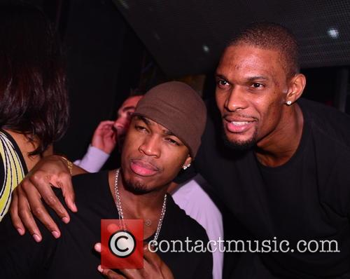 Ne-yo and Chris Bosh 10