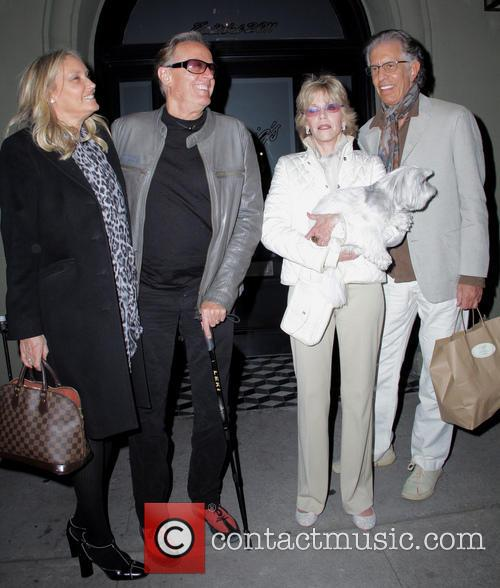 Peter Fonda, Jane Fonda and Richard Perry 1