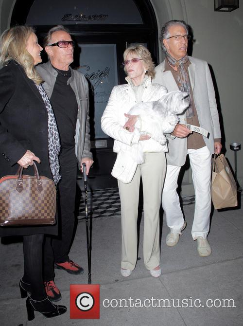 Peter Fonda, Jane Fonda and Richard Perry 2