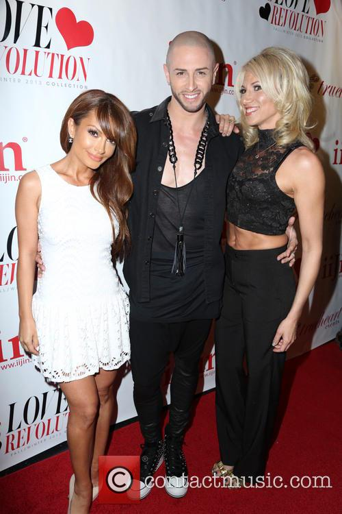 Layla Kayleigh, Brian Friedman and Debbie Gibson 2