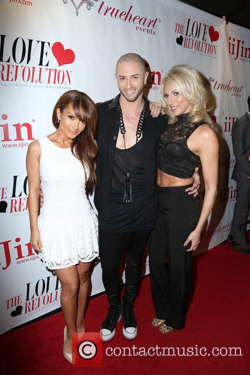 Layla Kayleigh, Brian Friedman and Debbie Gibson 5