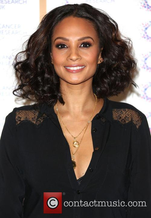 Alesha Dixon at a UK charity fundraiser