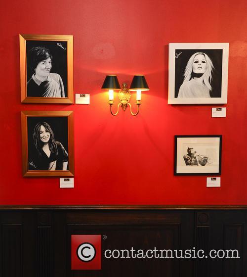Celebrity Portrait Exhibition at Boisdale