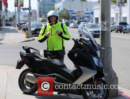 drew carey drew carey on motorbike 3592673