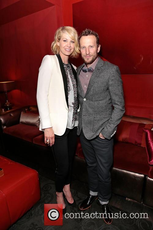 Jenna Elfman and Bodhi Elfman