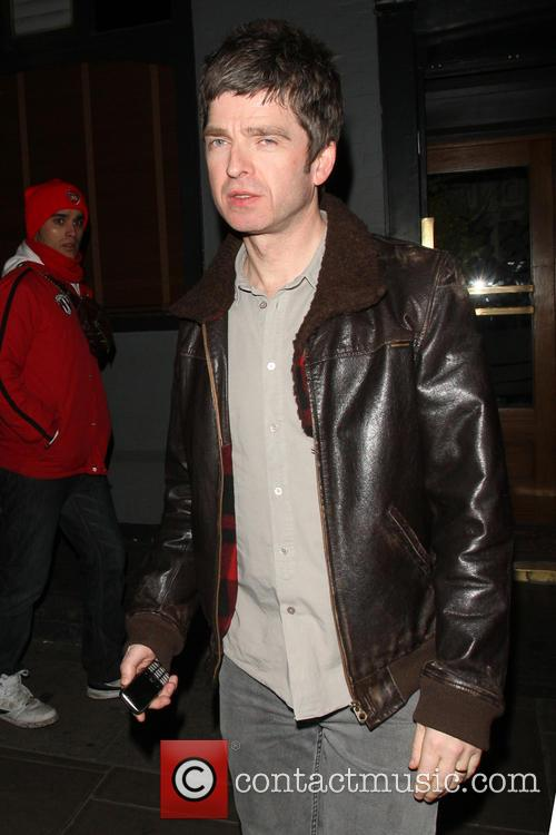 Noel Gallagher at London's Groucho Club