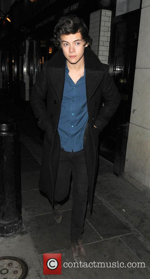 Harry Styles at London's Groucho Club
