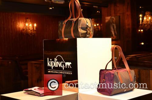 'Kipling x Helena Christensen' bag collection