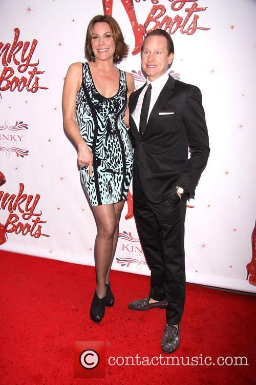 Countess Luann De Lessups and Carson Kressley 1