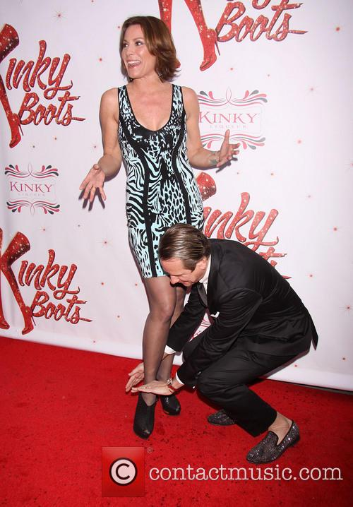 Countess Luann De Lessups and Carson Kressley 2