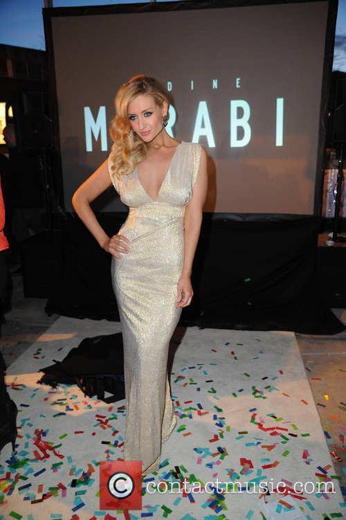 catherine tyldesley merabi couture fashion show 3594987