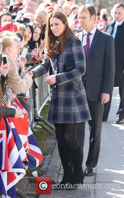 The Duke and Duchess of Cambridge visit the...