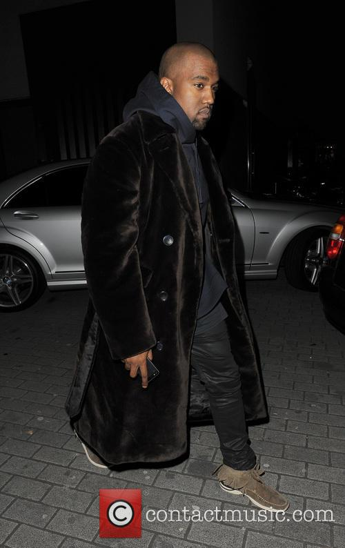 Rob Kardashian, Kanye West night out