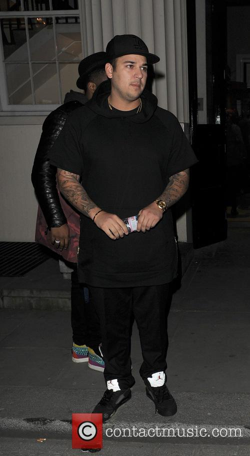 rob kardashian rob kardashian kanye west night 3586659