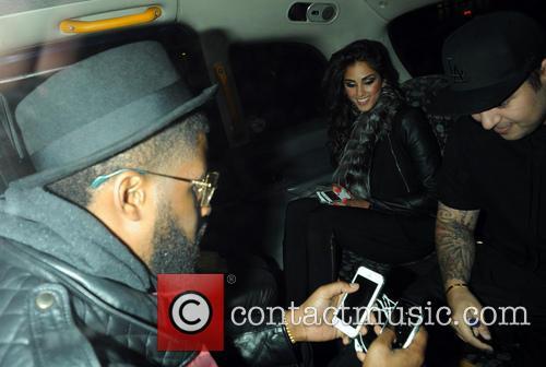 Rob Kardashian and Naza Jafarian 2