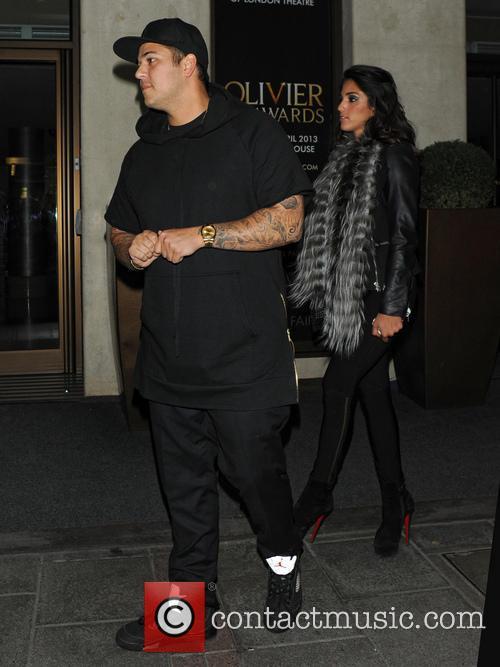 Rob Kardashian and Naza Jafarian 3