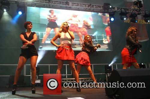The Saturdays, Frankie Sandford, Mollie King, Una Healy and Vanessa White 5