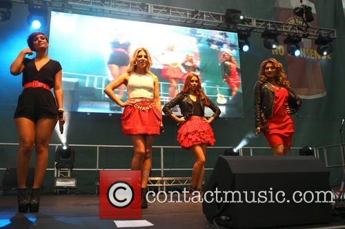 The Saturdays, Frankie Sandford, Mollie King, Una Healy and Vanessa White 6